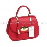 Итальянская  кожаная сумка Mela D'oro 8894