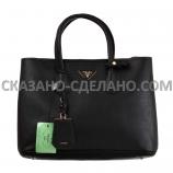 Кожаная сумка из италии PRADA
