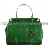 Женская сумка из натуральной кожи FENDI ROMA