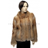 Куртка из меха рыжей лисицы Jan А 0065 КРАС