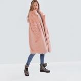 Пальто из эко меха,Barbara Alvisi, арт.,OVER23 100/POLVERE