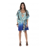 Венгерская, пляжная, длинная блузка Magistral Rachel - 150RA-A230
