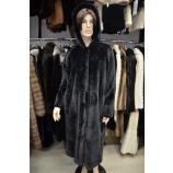 Итальянское пальто из эко меха,Barbara Alvisi, арт., 03AI19.110/NERO
