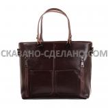 Итальянская  сумка из натуральной кожи  KM