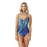 Сплошной венгерский купальный костюм Magistral, арт.,180AA-E266-1, серия AQUATIC