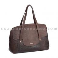 Итальянская сумка из кожи италия Entra 0011