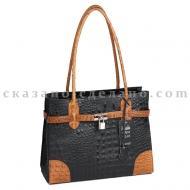 Итальянская сумка кожаная Mela D'oro 8002