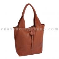 Итальянская кожаная сумка из италии Entra 0014