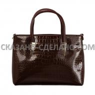 Итальянская женская сумка из натуральной кожи VS