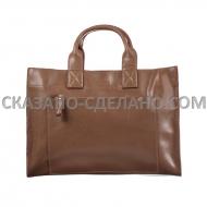 Женская сумка из натуральной кожи HERMES 11