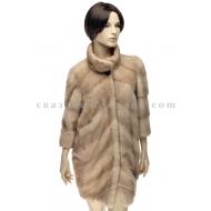 П/пальто из меха норки Romagna furs R007
