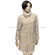 П/пальто из меха норки FURNIX 006