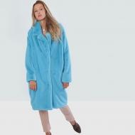 Итальянское пальто из эко меха,Barbara Alvisi, арт., OVER23 100/TIFFANY