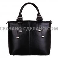 Итальянская  женская сумка из натуральной кожи ZUK
