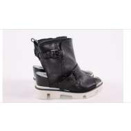 Итальянские сандали из натуральной кожи Marina Grey 0485 Nero
