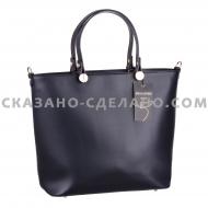 Кожаная итальянская сумка MELA  DORO 4045
