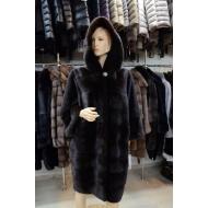 Пальто из меха норки BOSOU MELER HK - 1551