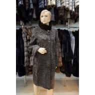 Пальто из меха каракуля Ольга 201-1112