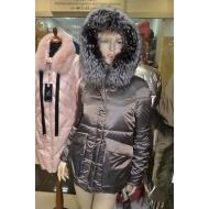 Короткая, зимняя куртка с капюшоном, утеплитель верблюжья шерсть Par ten HY812/ORO