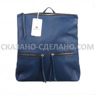 Итальянский рюкзак из натуральной кожи Marina Gray