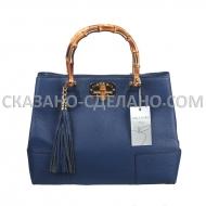 Итальянская кожаная сумка Mela D'oro