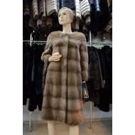 Пальто из меха норки Iviris F2181