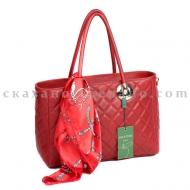 Итальянская кожаная сумка кожаная  Mela D'oro 8709