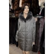 Осенне-зимнее пальто OSLS на верблюжьей шерсти, сьемный капюшон арт.,9016