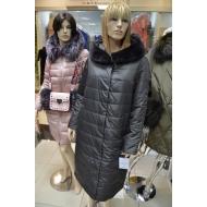 Пальто зимне-осеннее с капюшоном, внутренний утеплитель верблюжья шерсть, арт.. OSLS 8915-335
