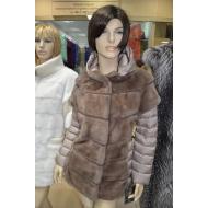 Итальянская куртка из натурального меха норки Antonio Didone арт., 108972