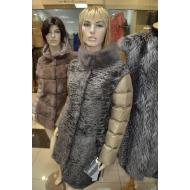 Итальянская куртка из  натурального меха каракуля  Antonio Didone арт., 39985