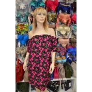 Итальянское платье GENIUS 2020 серия CHERRY арт., VELVET ABITO 131