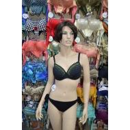 Genius 2019 итальянский купальный костюм серия Papiro арт., MALAGA 07 Pizzo+Strass