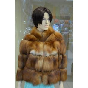 Куртка из меха рыжей канадской лисицы LIS 555