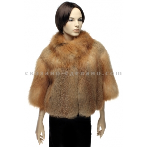 Куртка из меха рыжей лисицы Mala Mati, арт., К 045 Р