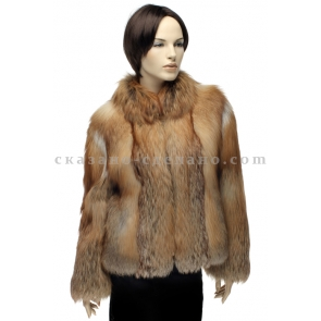 Куртка из меха рыжей лисицы Jan, арт., А 0065 КРАС
