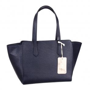 Итальянская сумка из натуральной кожи Marina Gray М4200BL