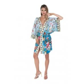 Венгерская, пляжная, длинная блузка Magistral - Flora 150FL-A210