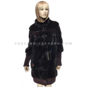 П/пальто из меха норки Antonio Didone 56490/А