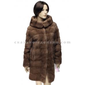 П/пальто из меха норки FURNIX 001КАП