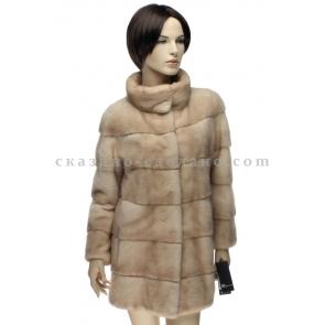 П/полупальто из меха норки Romagna furs С203
