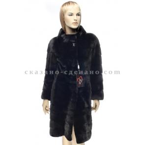 Пальто из меха норки Mala Mati, арт., 95192 МZ