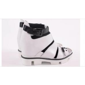 Итальянские сандали из натуральной кожи Nila&Nila 0351 BL