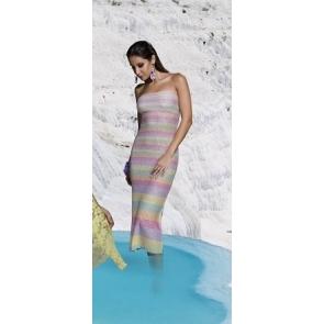 Итальянское, пляжное платье Genius Riga Lurex MOIRA ABITO