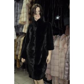 Пальто из меха норки Ledi Sharm AD7158