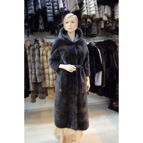Двустороннее пальто из меха норки Antonio Didone 111512