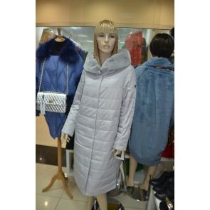 Осенне-зимнее пальто с капюшоном, внутренний утеплитель верблюжья шерсть, OSLS арт., 8915-B