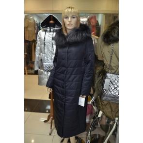 Пальто зимнее с капюшоном, внутренний утеплитель, верблюжья шерсть фирма  OSLS арт., 8905-S