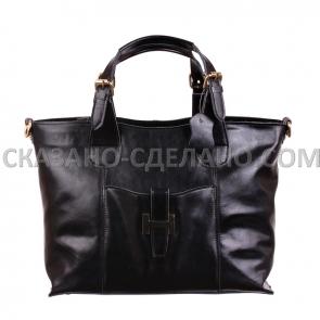 Женская сумка  из натуральной кожи HERMES - 333