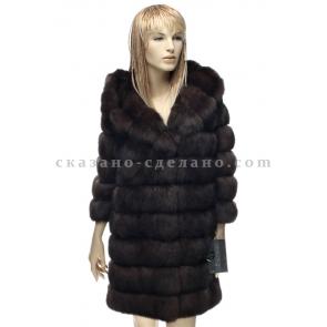 П/пальто из меха соболя A.Didone 94087